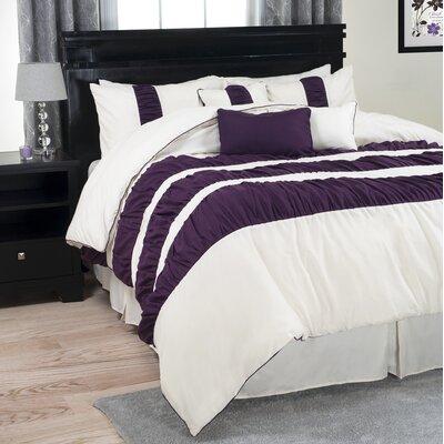 Royal Ripple Comforter Set Size: Queen