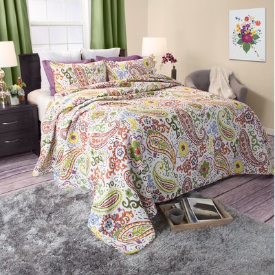 Claire Quilt Set Size: Full / Queen