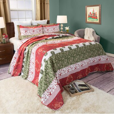 Maya Quilt Set Size: King