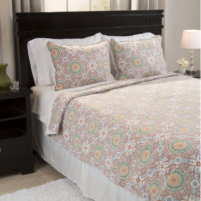 Gabriella Reversible Quilt Set Size: Twin