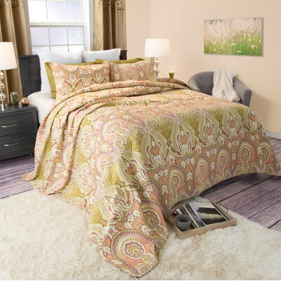 Mila Quilt Set Size: Full / Queen