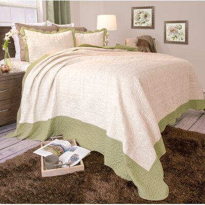 Grace Quilt Set Size: King