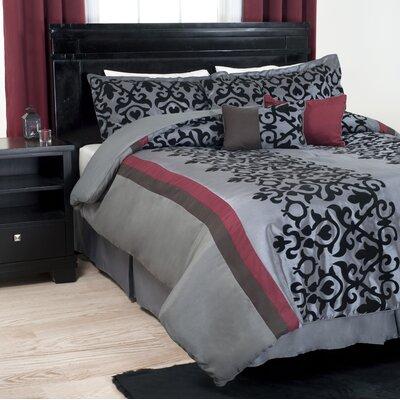 Scroll Comforter Set Size: Queen