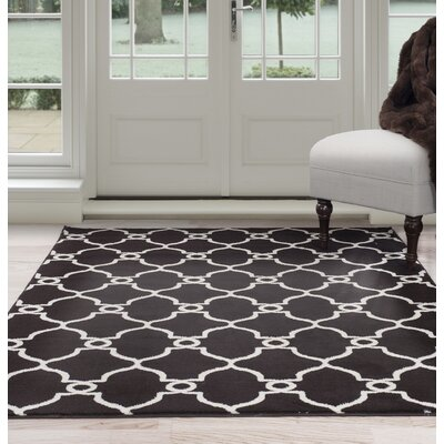 Brown Area Rug Rug Size: 8' x 10'