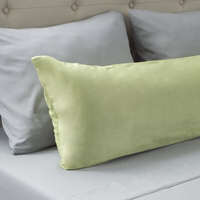 Micro-Suede Body Pillow Protector Color: Sage