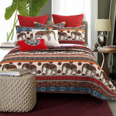 Kandula Desert Bonus Quilt Set Size: King