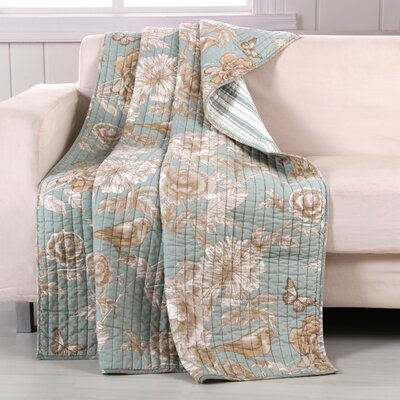 Naomi Spa Quilted Throw