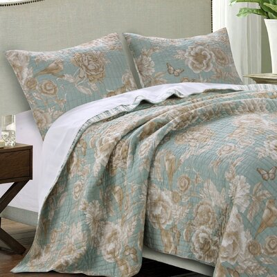 Naomi Spa Quilt Set Size: Twin