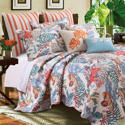 Atlantis Bonus Quilt Set Size: Full/Queen