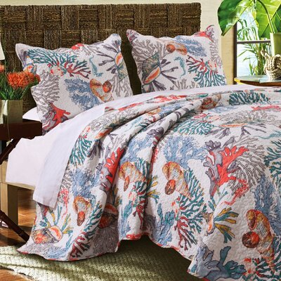 Atlantis Quilt Set Size: Full/Queen