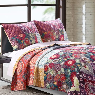 Samsara Reversible Quilt Set Size: King