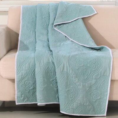 Cameo Throw Color: Aqua Haze