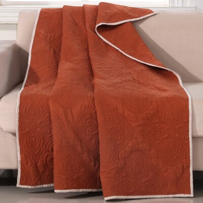 Cameo Throw Color: Rust