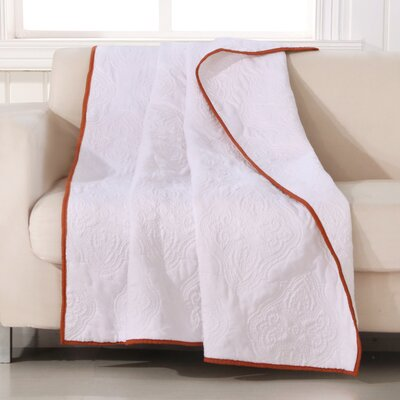 Cameo Throw Color: Whisper White