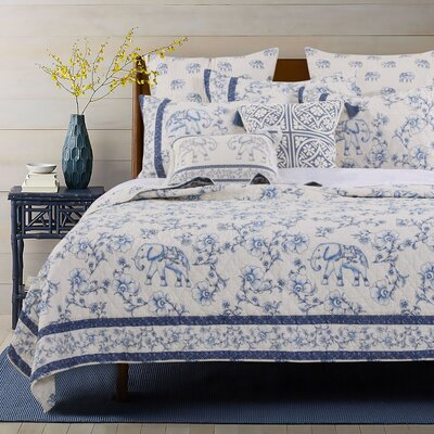 Brunwood Reversible Quilt Set Size: Full/Queen