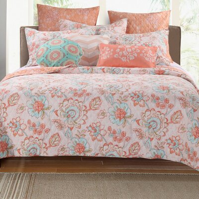 Ennis Reversible Quilt Set Size: Twin