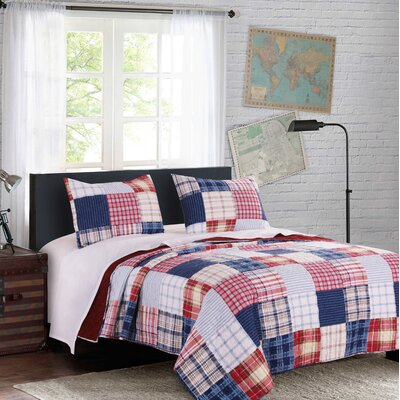 Louanne Reversible Quilt Set Size: King