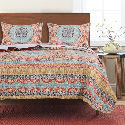 Tantonville Reversible Quilt Set Size: King