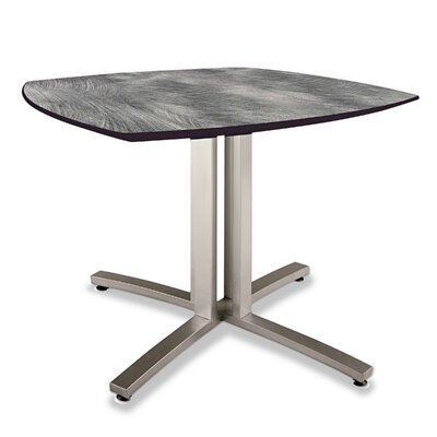 Story Series Square 29H x 36W x 36L Conference Table Top Finish: Pewter