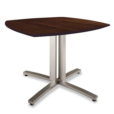 Story Series Square 29H x 36W x 36L Conference Table Top Finish: Walnut