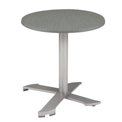 Parx Series Dining Table Top Finish: Pewter