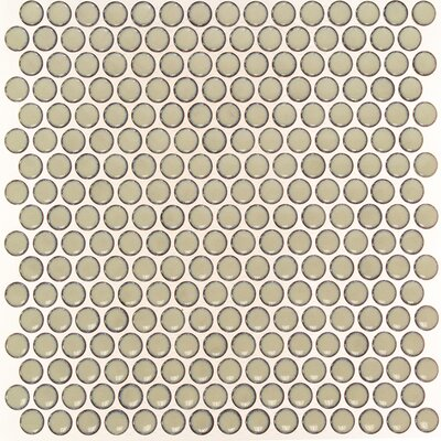 Bliss 0.75 x 0.75 Ceramic Mosaic Tile in Khaki