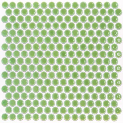 Bliss 0.75 x 0.75 Ceramic Mosaic Tile in Wheat Grass