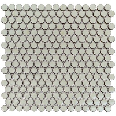 Bliss 0.75 x 0.75 Ceramic Mosaic Tile in Sage