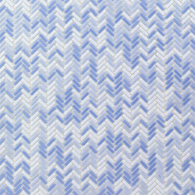 Recoup 12 x 12 Glass Mosaic Tile in Azure