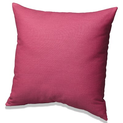 Solid Cotton Throw Pillow Color: Hot Pink