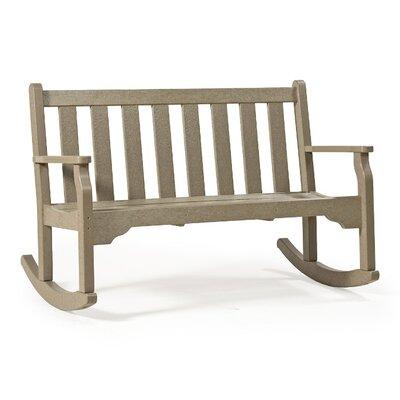 "SIESTA Classic Plastic Garden Bench - Finish: Hunter Green, Size: 48"" at Sears.com"