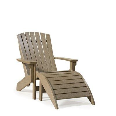 SIESTA Westport Adirondack Chair (2 Pieces) - Finish: Brown