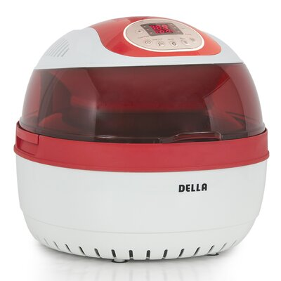 10 Liter Electric Air Fryer Color: Red 048-GM-48272