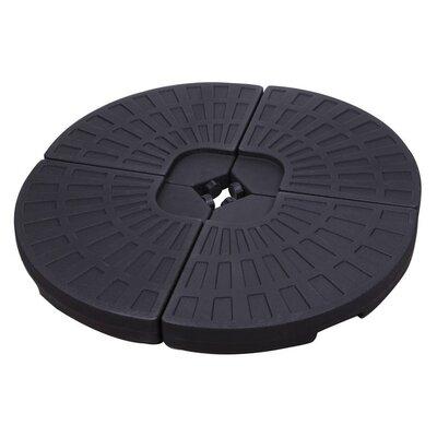 Summer Patio Plastic Umbrella Base Finish: Black