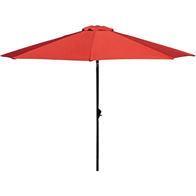 9 Market Umbrella Fabric: Red