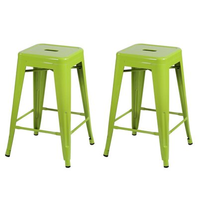 24 Bar Stool Finish: Green