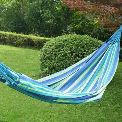 Kailey Naval-Style Outdoor Tree hammock Color: Oasis