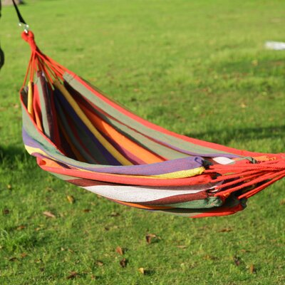 Kailey Naval-Style Outdoor Tree hammock Color: Antigua