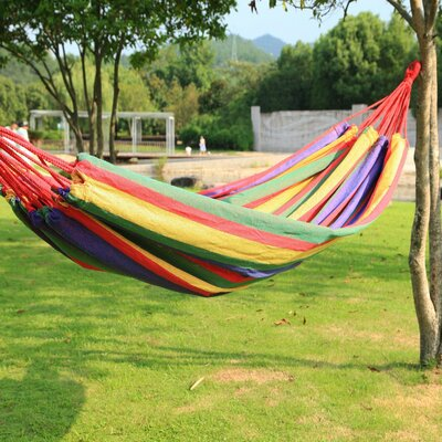 Kailey Naval-Style Outdoor Tree hammock Color: Multi