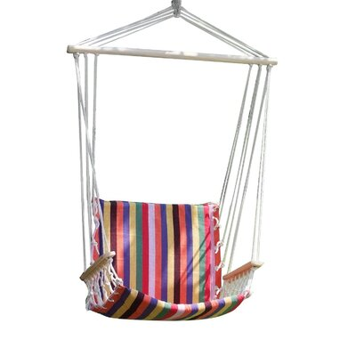 Melrose Naval-Style Cotton Fabric Canvas Chair Hammock