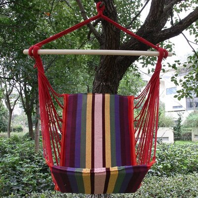 Meadowland Cotton Fabric Hanging Chair hammock