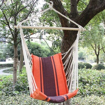 McGuire Cotton Fabric Hanging Chair hammock