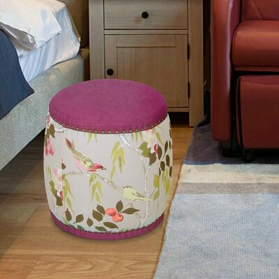 Mayfield Ottoman Upholstery: Magenta