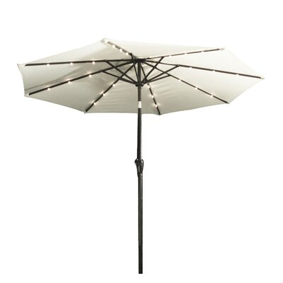 9 Octagonal Market Umbrella Color: Cream