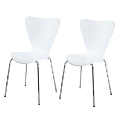Boldt Dining Chair Color: White