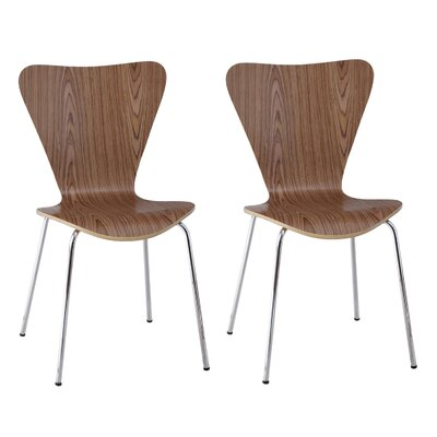 Boldt Dining Chair Color: Brown