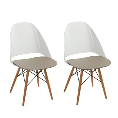 Vandyke Dining Chair Color: Beige