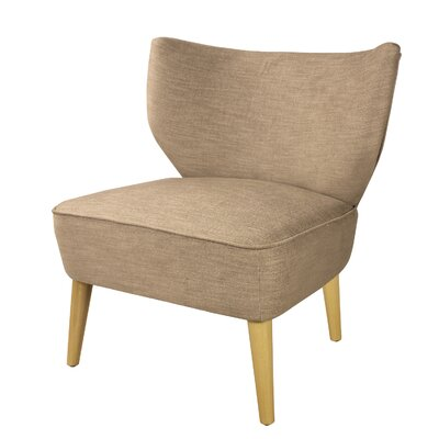 Verret Slipper Chair Upholstery: Brown