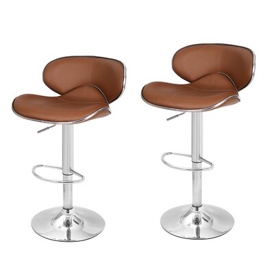 Margarites Adjustable Height Bar Stool