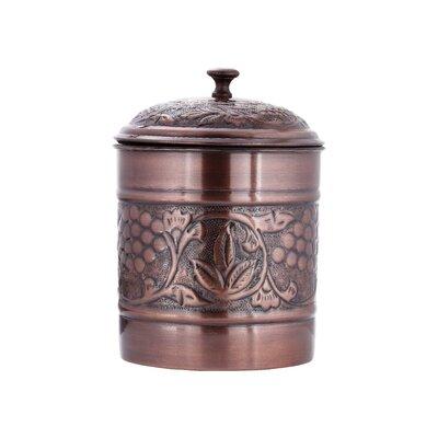 Antique Embossed 4 qt. Cookie Jar